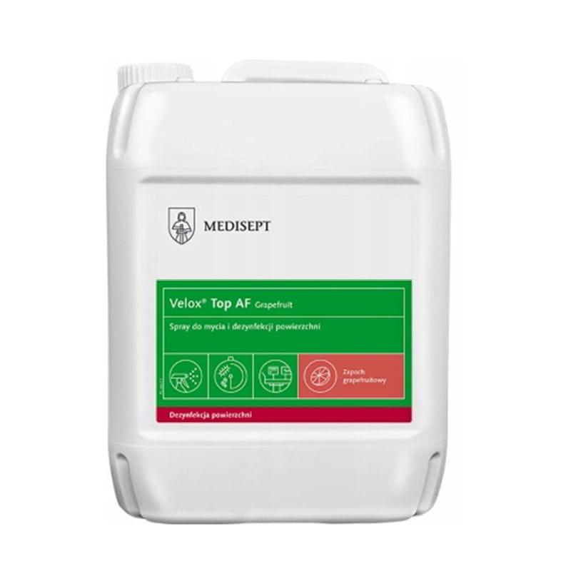 Velox Top AF  GREJPFRUTOWY 5L- płyn do mycia i dezynfekcji powierzchni